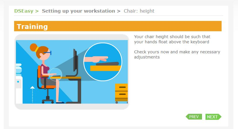 Chair height easily explained