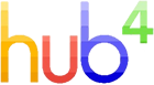 Hub-4 logo