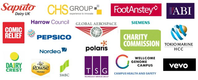 HUB4 Customer logos